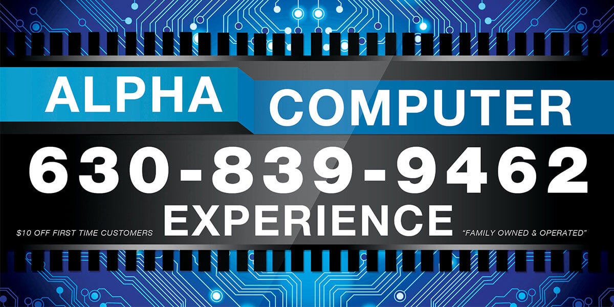 Alpha Computer Experience Computer Repair Plainfield, IL & Oak Brook, IL